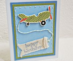 airplane birthday card birthday cards for kids boy birthday card handmade greetings for birthday. $10.89, via Etsy.