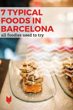 Believe it or not, tapas aren't native to Barcelona. Sure, you'll find bars serving them, but when you head out to a restaurant, try one of these typical foods from Barcelona instead. Eating like a local is one of the most rewarding things to do in any city, and this guide will show you how to do just that! Barcelona Food, Barcelona Travel, Spanish Cuisine, Spanish Food, Foodie Travel, Street Food, Tapas, Vegetarian Recipes, Yummy Food