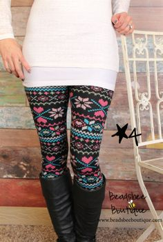 Fleece Lined Print Leggings – 12 Styles! | Jane