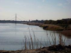 الجسر المعلق .. نهر دجله