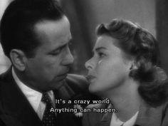 Casablanca quotes hollywood scenes, old hollywood movies, classic movie quo Casablanca Quotes, Casablanca 1942, Hollywood Scenes, Old Hollywood Movies, Classic Hollywood, Ingrid Bergman, Best Dating Apps, Humphrey Bogart, Film Quotes