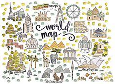 Que j'aimerais visiter tous les pays du monde ! Mais je ne suis pas sûre que je puisse réaliser mon rêve !