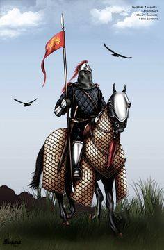 Elite: Byzantine Cataphract by dmavromatis.deviantart.com on @DeviantArt