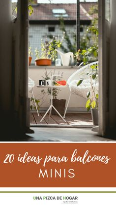 Ideas, Small Balconies, Verandas, Window Boxes, Interior Balcony, Charcoal Bbq, Thoughts