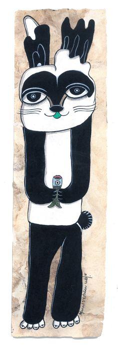 """Conejo disfrazado de panda"" Snoopy, Fictional Characters, Art, Rabbits, Animales, Craft Art, Kunst, Gcse Art, Art Education Resources"