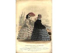 1855 promenade dress