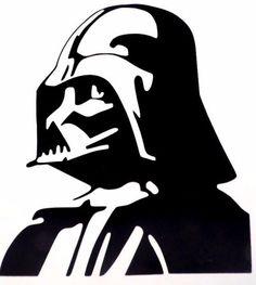 Darth Vader Star Wars Car Truck Window Vinyl Decal Sticker Choose Color #VinylDecalSticker