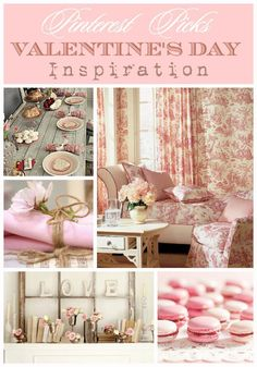 Valentine��s Day Inspiration | A curated selection of Valentine's Day decor ideas  | #Designthusiasm