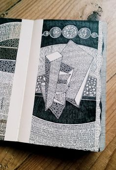 Great site to demonstrate pen and ink journaling