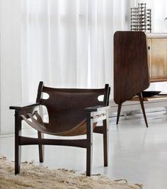 WISH LIST -Kilin Lounge Chair: by Sergio Rodrigues, 1973