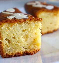 Greek Yogurt Cake Soaked in Syrup Recipe (Yiaourtopita) - My Greek Dish Greek Cake, Greek Yogurt Cake, Greek Sweets, Greek Yogurt Recipes, Greek Desserts, Yogurt Cups, Food Cakes, Greek Dishes, Recipe Images