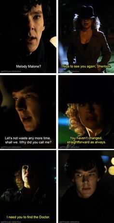 River Song hires Sherlock to find the Doctor. Fandom Crossover, 2015 Movies, Torchwood, Johnlock, Baker Street, Sherlock Holmes, Sherlock Fandom, Dr Who, Superwholock