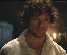 Image result for sam heughan jamie fraser audition tape