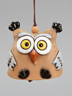 """Knock, Knock"" ""Who's there?"" ""Who..."" ""Who who?""  ... ""Are you an owl?""  Owl Bell"