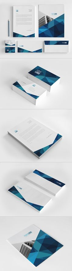 Abstract Architecture Stationery Pack
