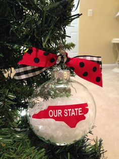 Nc state ornament