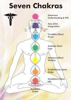 de zeven chakras
