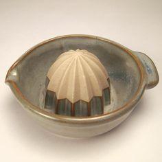 beautiful ceramic citrus juicer (via kneelandmercado.com)