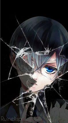 Ciel Phantomhive | Black Butler | Kuroshitsuji | Anime | Anime Trapped behind glass:
