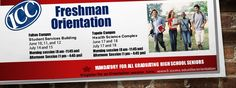 Don't forget to register for Freshman Orientation.