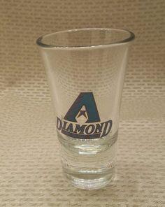 Arizona Diamondbacks Shot Glass Official MLB Product #ArizonaDiamondbacks