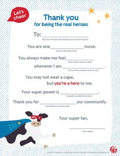 Sometimes it's we do that help people feel most appreciated for the big things they do. Here are a few ways you and your kids can honor nurses and healthcare workers on National Nurses Day (May for the big things they do everyday. National Nurses Day, Make You Feel, Let It Be, Real Hero, Words To Describe, Pick One, Barre, When Someone, Fun Ideas