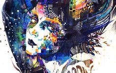 Le illustrazioni di Minjae Lee sono stupende, le trovo complesse e sono un'esplosione di colore incontrollato che conquista e ipnotizza la vista e la mente.