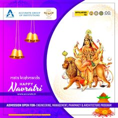 May the goddess Kushmanda to give you all gifts of life, gifts of joy, gifts of happiness, gifts of friendship, gifts of love and all other gifts you want to have in your life. Happy Navratri!! #Accurate #AIMT #AGI #Navratri #HappyNavratri #MaaKushmanda #KushmandaMata Architecture Program, Navratri Festival, Happy Navratri, All Gifts, Friendship Gifts, Happiness, Joy, Group, Life