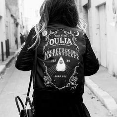 "Veste / Blouson Gothique Killstar ""Ouija Varsity"""