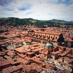 View from Due Torri #bologna - Instagram by @Cristina @thetravolution