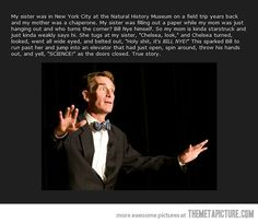 Bill Nye delivers.  That, folks, is winning.
