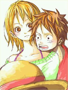 Luffy: *moans* Nami, have you fixed it yet?
