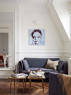 A Small and Stunning Paris Apartment   Apartment Therapy