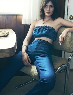 Sam Rollinson For 'Into the Blue' For Vogue Germany May 2015