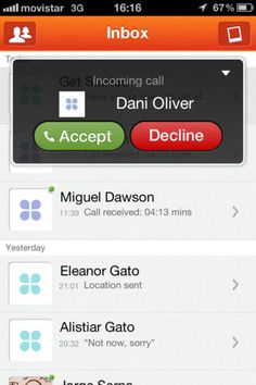 In call controls