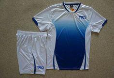 0a3008c56 Soccer Jerseys Cheap-T90 White Training Blank Uniform  4155 Soccer Gear