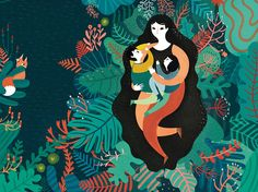 A chat with illustrator & storyteller Francesca Sanna Art And Illustration, Illustrations And Posters, Poster S, Wow Art, Stencil Art, Vector Art, Illustrators, Artwork, Portraits