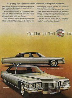 1971 Cadillac Fleetwood Sixty Special Sedan