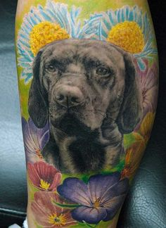 Hunde Tattoos Part 01 - 10 awesome Tattoo-Pictures - Klick the picture for the Gallery