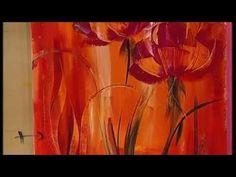 ▶ MONITOR | Gabriela Mensaque pintando con Acrílicos Profesionales Lautrec | Manos a la Obra - YouTube