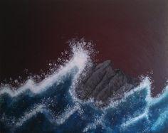 Teresa Cychosz, #54 of 100 artists in Flash Art Show. (acrylic on canvas)