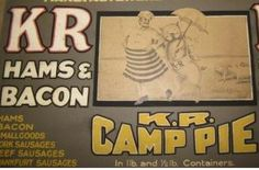 KR brand camp pie originated on the vast Darling Downs of Queensland and was advertised in 1927.