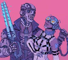 Bildergebnis für cyberpunk art