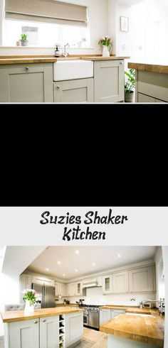 Suzie's Shaker Kitchen Shaker Kitchen, Kitchen Tiles, Kitchen Decor, Kitchen Cabinets, Little Greene Paint Company, Large Open Plan Kitchens, Underfloor Heating Systems, Off White Paints, White Shaker Cabinets