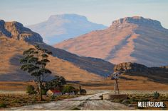 Landscape by local artist Paul Munro. Landscape Paintings, Watercolor Paintings, Oil Paintings, Landscapes, South Africa Art, Art Pictures, Art Pics, Photo Sculpture, Fabric Paint Designs