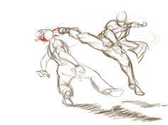 -- Share via Artstation iOS App, Artstation © 2016 Gesture Drawing, Drawing Base, Manga Drawing, Drawing Sketches, Drawings, Anime Poses Reference, Figure Drawing Reference, Fighting Drawing, Sketch Poses