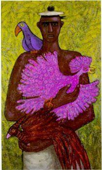 Ellis Wilson's Caribbean Bird Vendor. Squish!