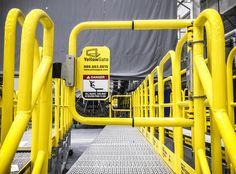 Safety Swing gate for Aluminum Work Platform