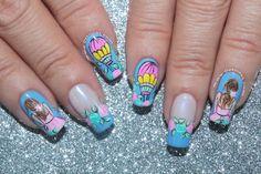 Diseño de uñas vintage globo Deko Uñas - Balloon vintage nails Cute Nails, My Nails, Cute Nail Designs, Coffin Nails, Nail Art, Beauty, Designed Nails, Frases, Vestidos