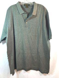 Izod Club International Tour Polo Shirt Size XL Black White Stripe NWOT #IZOD #PoloRugby